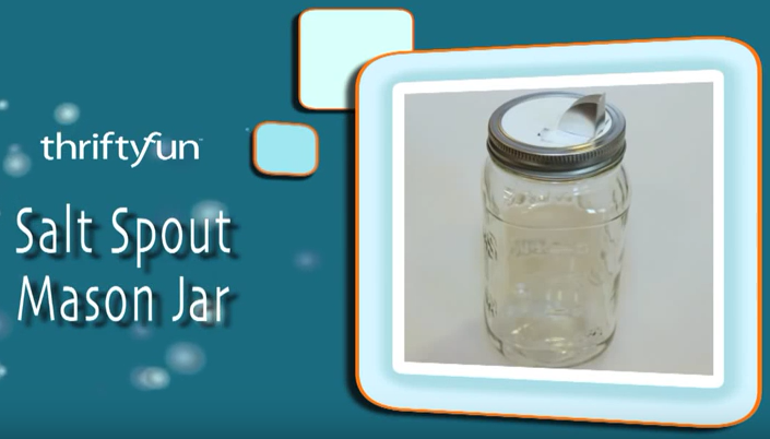 Salt Spout Mason Jar